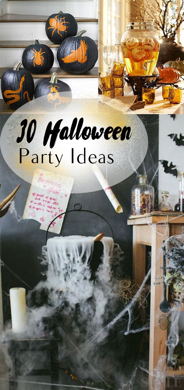 30 Halloween Party Ideas Halloween halloween, Popular pins and DIY - halloween party decorations diy