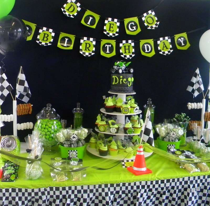 Top Motocross Party Theme Birthday Party Ideas | Birthday party ideas  BR84