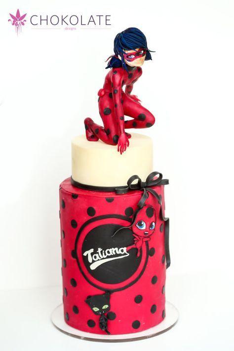 Miraculous Ladybug Birthday Cake Pinterest