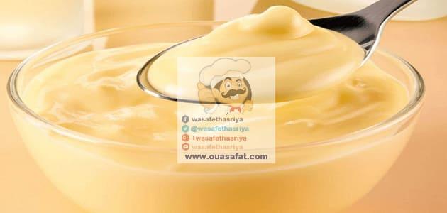 طريقة تحضير كؤوس الكاسترد Easy Custard Custard Desserts