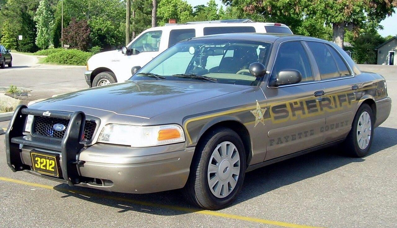 Fayette county al sheriff 3212 ford cvpi slicktop