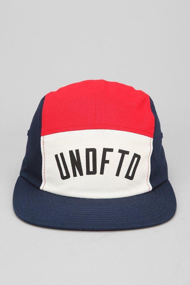 c1b08bea42e Undefeated International Colorblock 5-Panel Hat