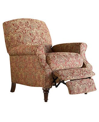 Chloe Recliner Chair High Leg Country Style Furniture Macy S