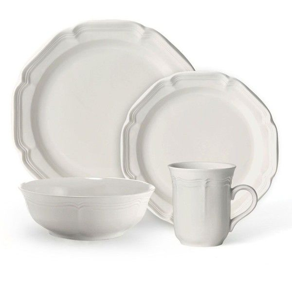 French Countryside 32 Piece Dinnerware Set 200 Liked On