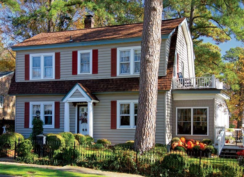 Sears houses in hopewell virginia dutch colonial for Brick kit homes