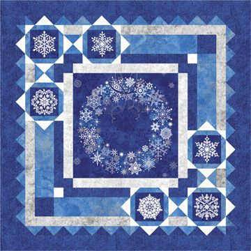 Holiday Snow Ptn1112 Barb Sackel For Quiltwoman Com Size
