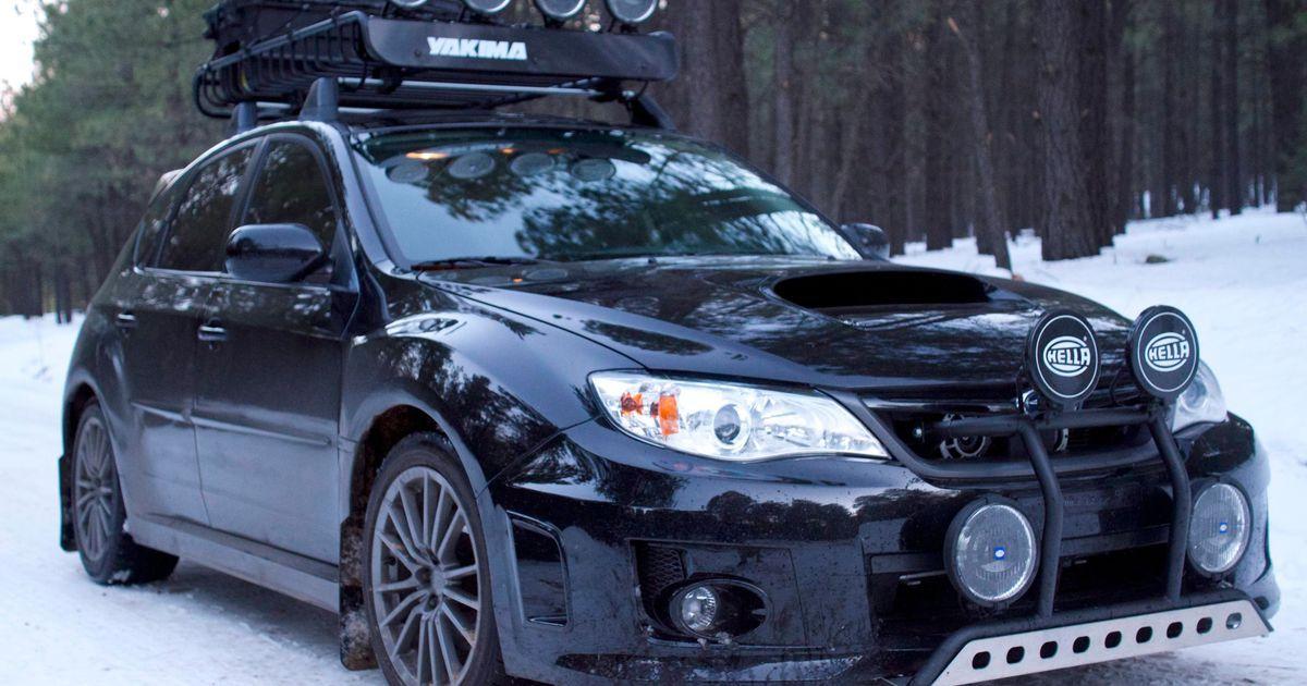 Not Even The Harshest Winter Will Break This Snow Prepped Impreza Subaru Hatchback Subaru Impreza Sport Wrx