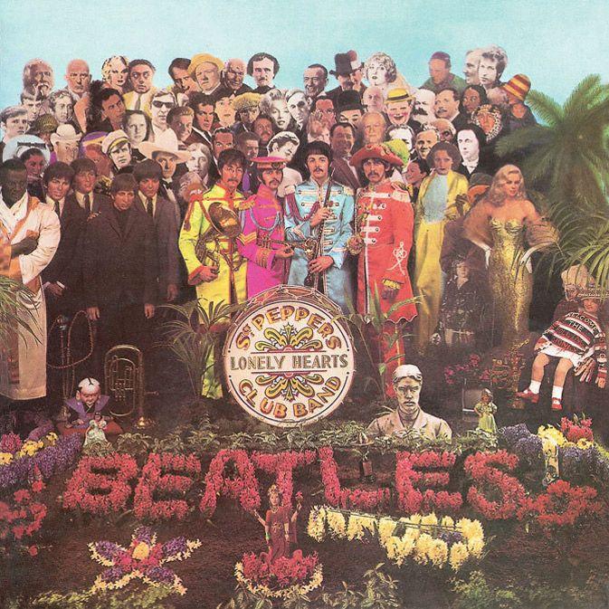 Photo of Peter Blake – Das Beatles Album Design