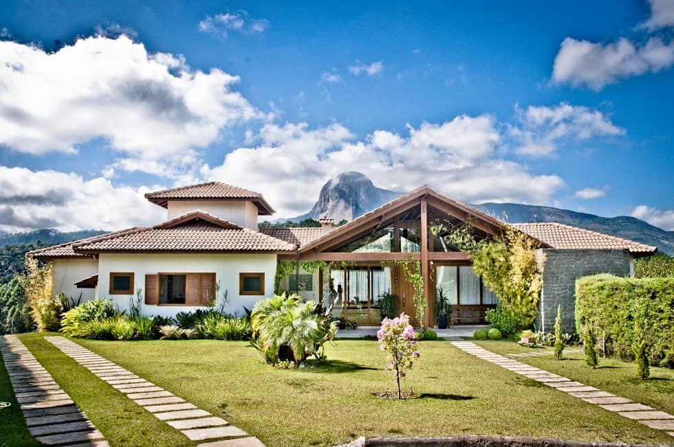 27 casas de campo incríveis! Qual você prefere?   https://www.homify.com.br/livros_de_ideias/2657971/