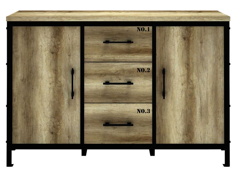 rangement 2 portes 3 tiroirs loft vente de buffet bahut vaisselier conforama lit 1 place. Black Bedroom Furniture Sets. Home Design Ideas