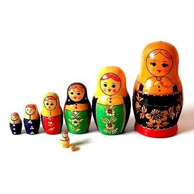 matryoshka doll 8 sisters