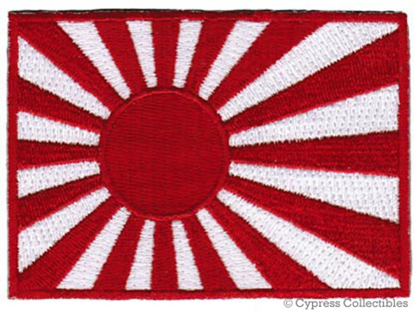 Japan National Flag Emblem Embroidered Patch Janpanese Sew Iron Badge Applique