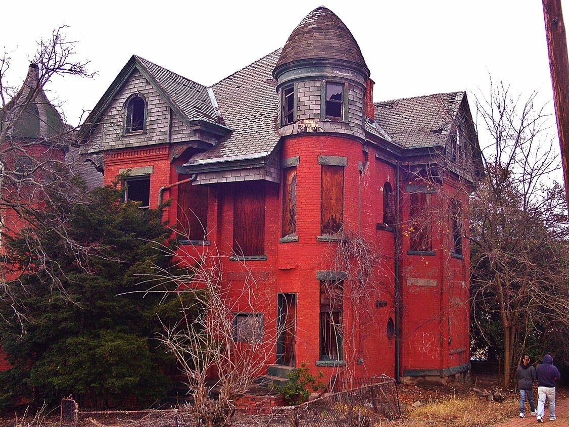 Pittsburgh Abandoned Victorian House