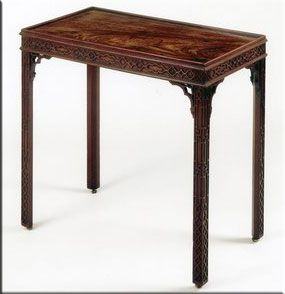 Nice Thomas Chippendale Side Table
