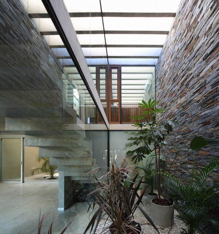 Diseño de escaleras modernas Planos de casas de dos pisos Pinterest - escaleras modernas