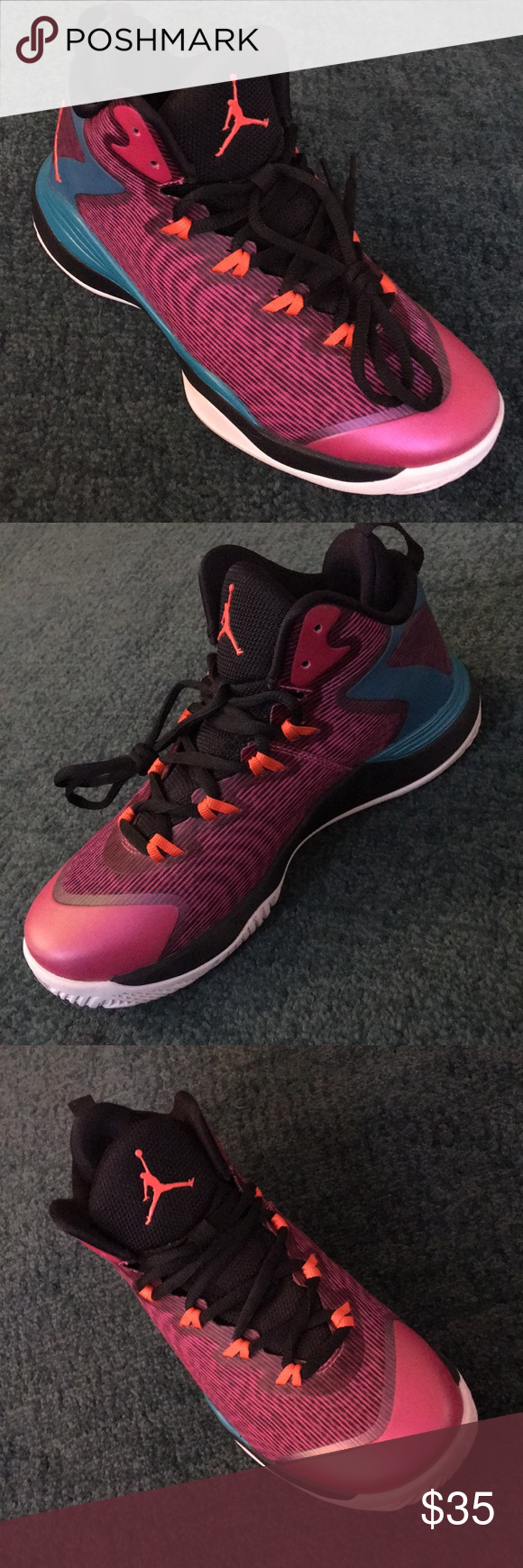 innovative design 22ae2 8e67c Nike Air Jordan Superfly 3 BG Youth Sneakers Size 4.5 Fits Women s Size 6 .