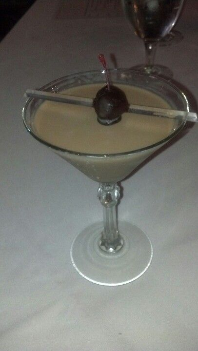 Glenlivet Chocolate Martini WOW! From Helens @ Seven Springs