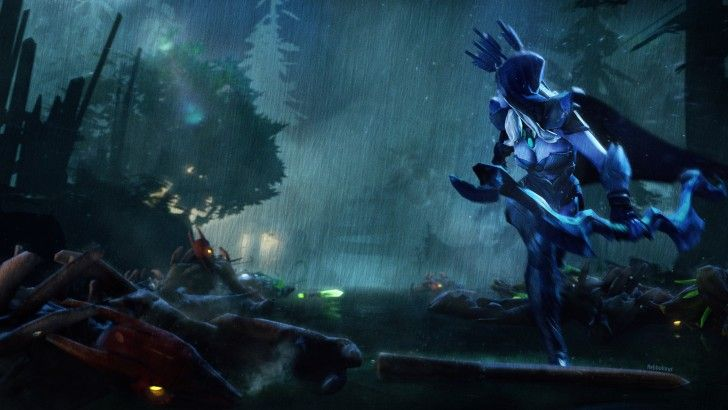Drow Ranger Wallpaper Hd Dota2 Pinterest