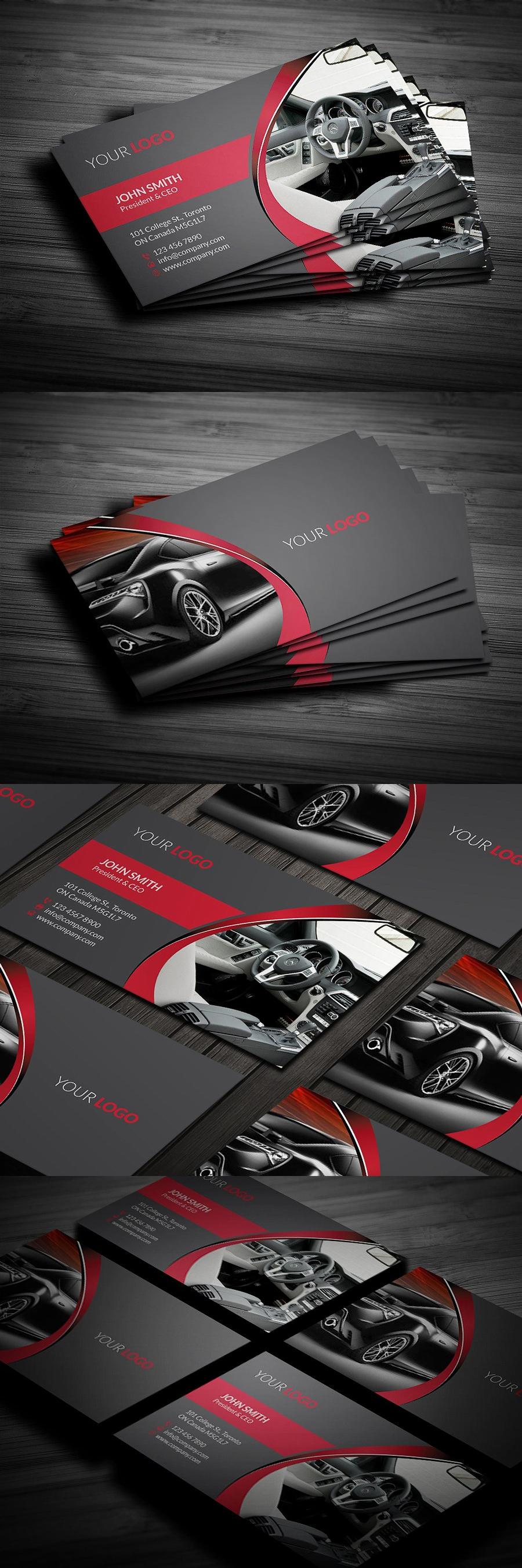 Rent a car business card pinterest card templates business rent a car business card template psd reheart Gallery
