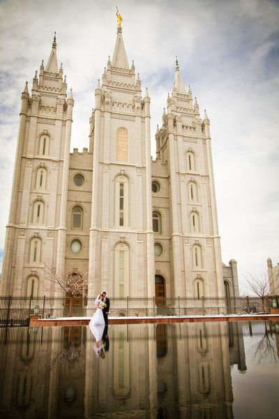 Alyson and David Salt Lake City Temple Wedding! | { s h o o t s