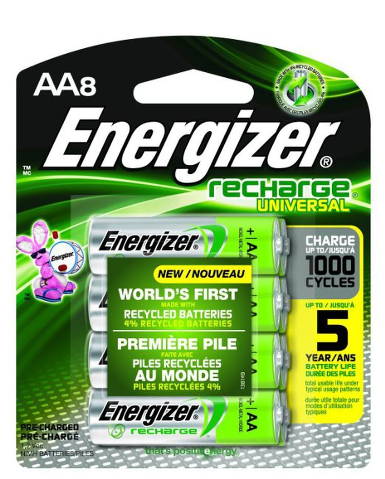 The 7 Best Aa And Aaa Rechargeable Batteries Of 2021 Rechargeable Batteries Energizer Energizer Battery
