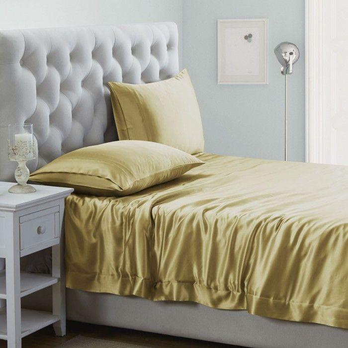 19 Momme Silk Duvet Cover Silk Bed Sheets Bed Linen Sets Best