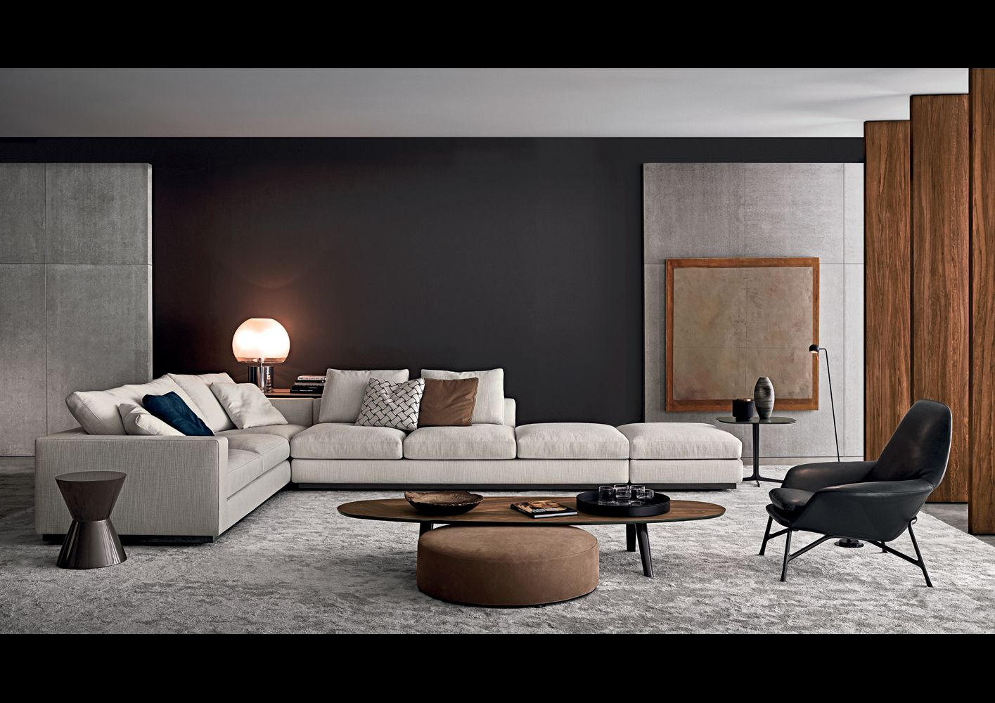 minotti ipad andersen line andersen line quilt sofas. Black Bedroom Furniture Sets. Home Design Ideas