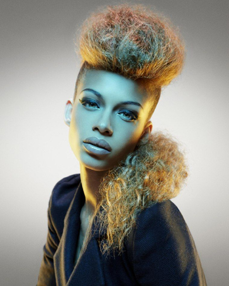 Black People With Colored Hair Anissa Von Busse Black Girls