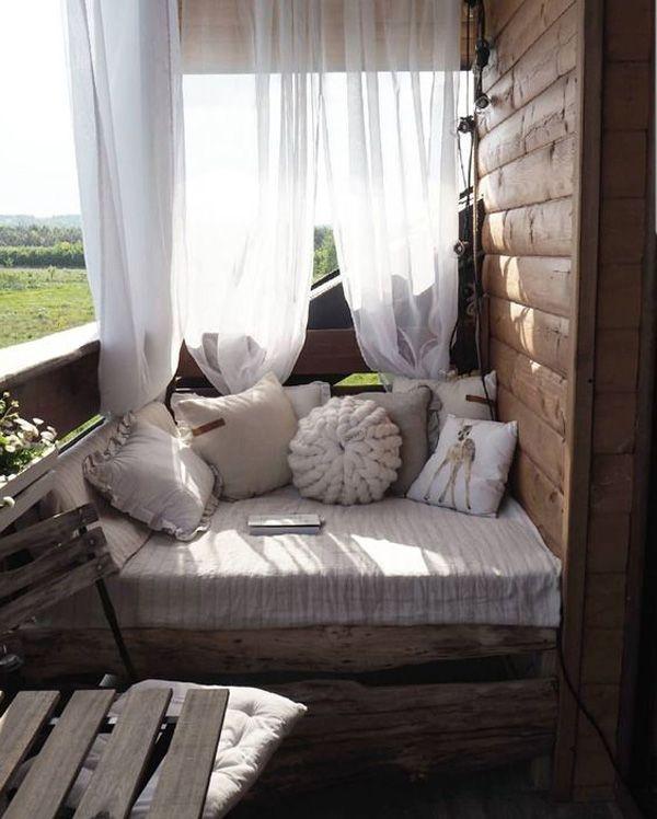 Balkon Terrasse Dekorationsideen - iannnnn Singhto #smallporchdecorating