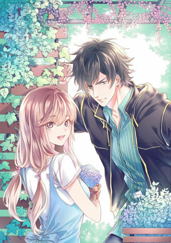 couple art romance pasangan