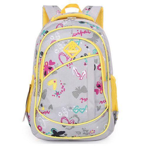 Cute Girls Floral Printing Elementary School Bag Backpack Trendy Children  Kids Backpack Book Bag Student Satchel b33afaf58af35