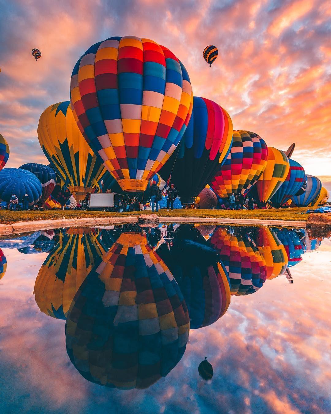 bklyphoto Albuquerque balloon festival, Hot air balloon