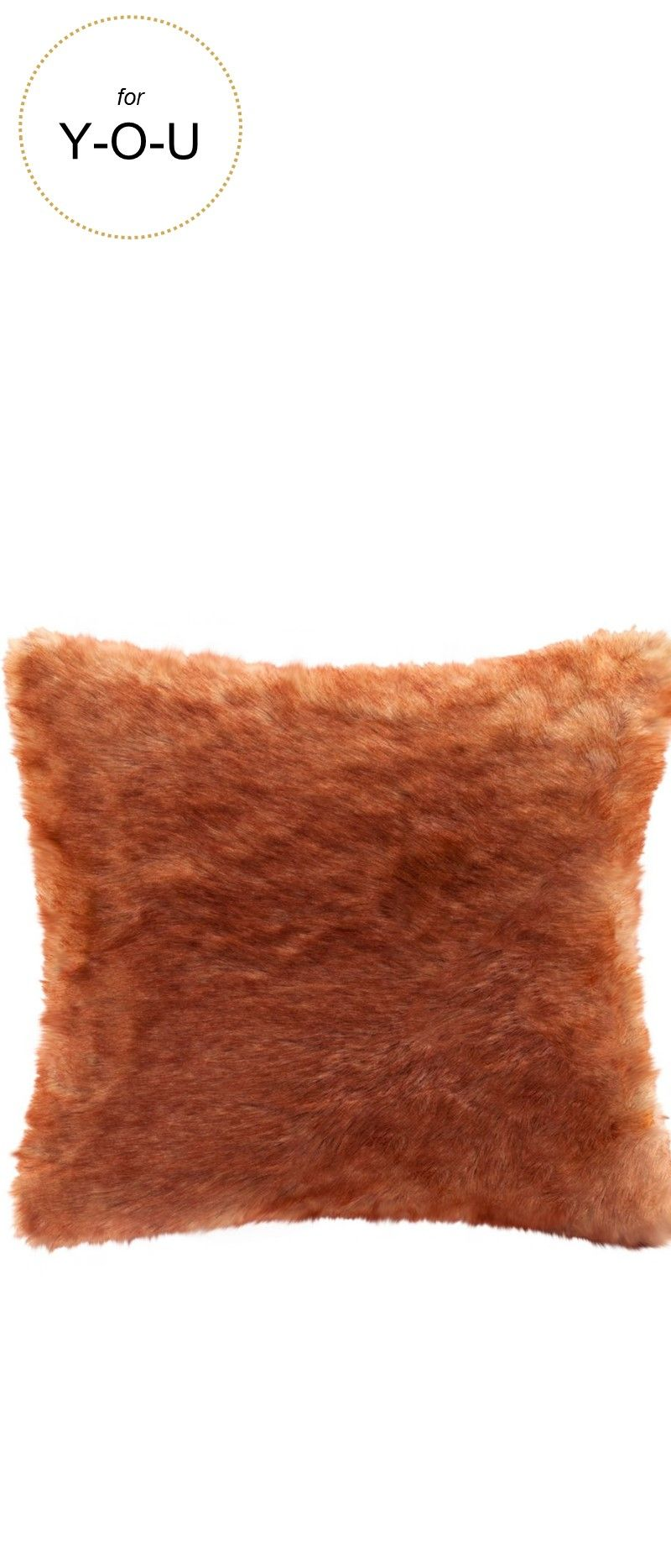 Madison Park Signature Red Fox Faux Fur Decorative Pillow Faux Fur Throw Pillow Faux Fur Pillow Throw Pillows