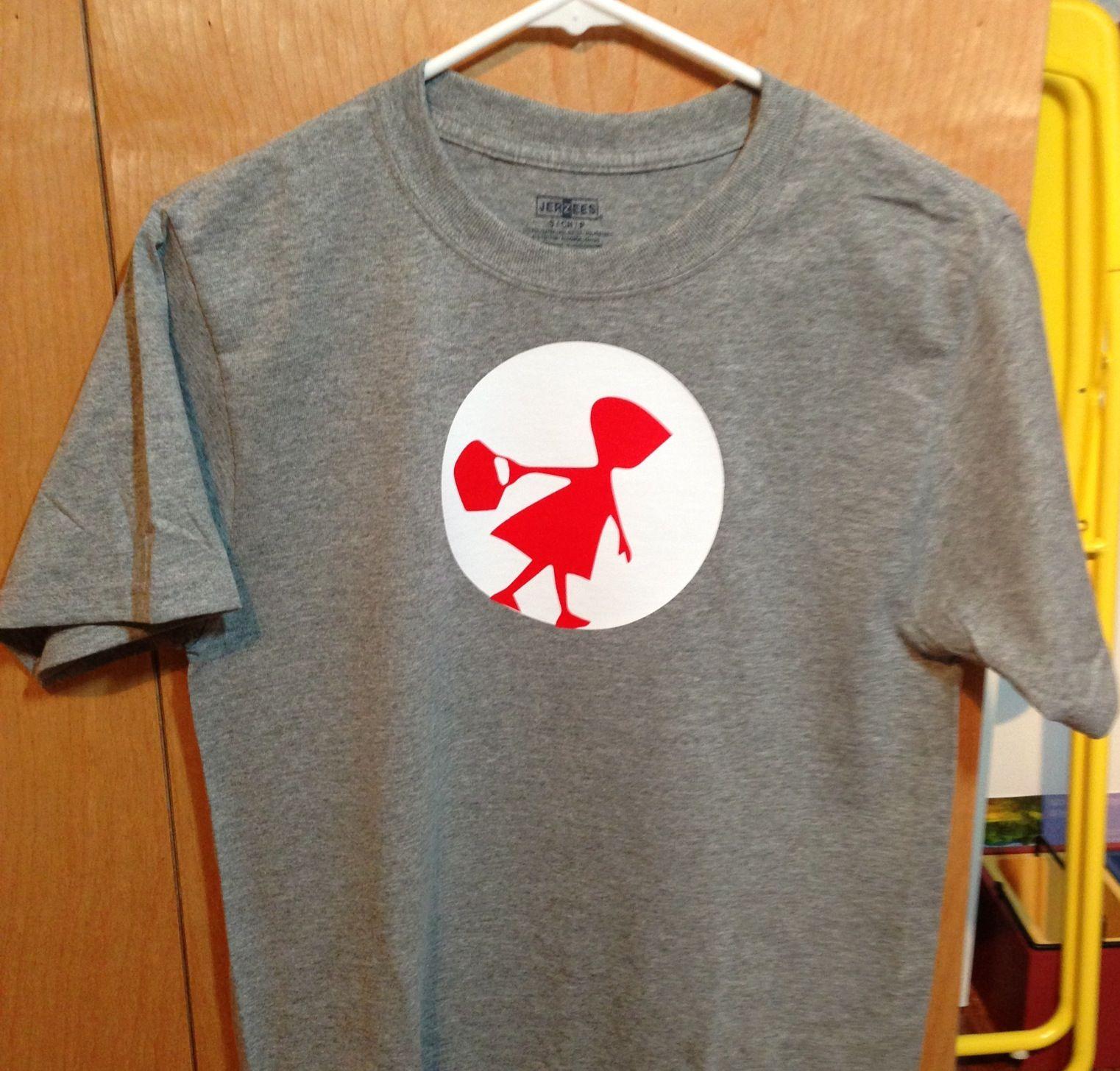 c34963c9 Red riding hood shirt I made with my Cameo. Heat transfer vinyl ...