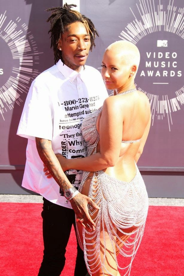 Who was amber rose dating before wiz