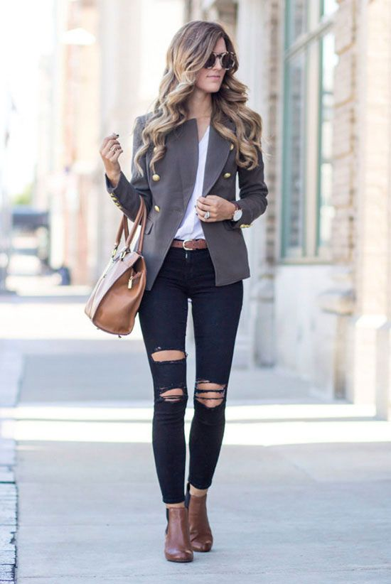7 Stylish Ways To Wear The Military Trend This Fall | Be Daze Live
