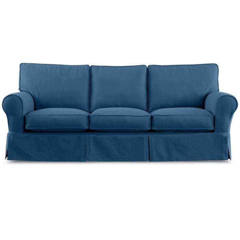 "Jc Pennys Furniture: Friday Twill 91"" Slipcovered Sofa"