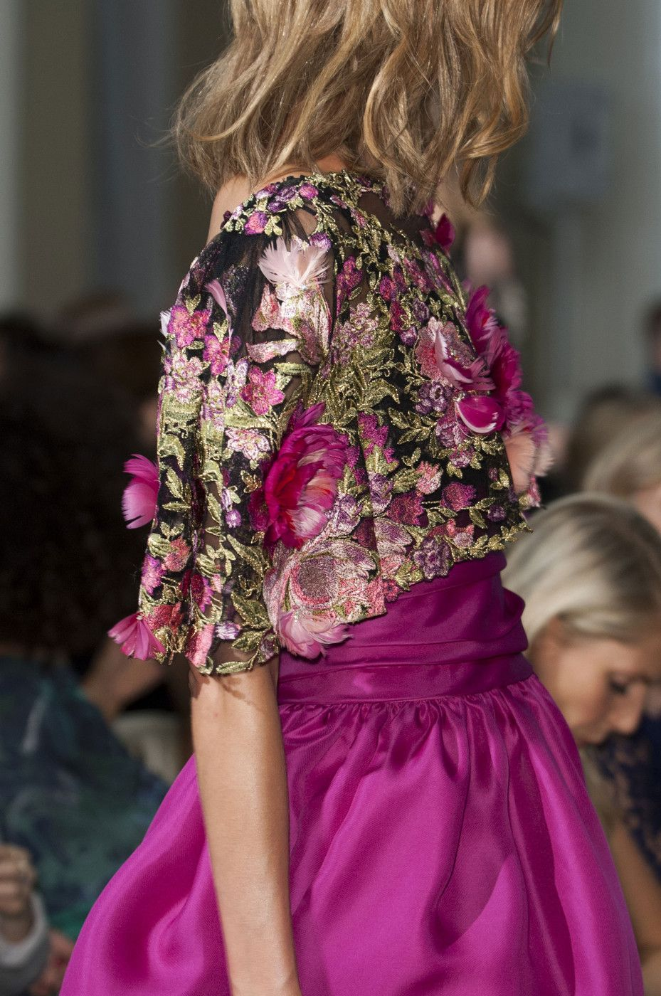 """""""Couture Details at Marchesa RTW S/S 2015 """""""