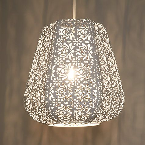 John Lewis Partners Easy To Fit Rosanna Ceiling Pendant Shade