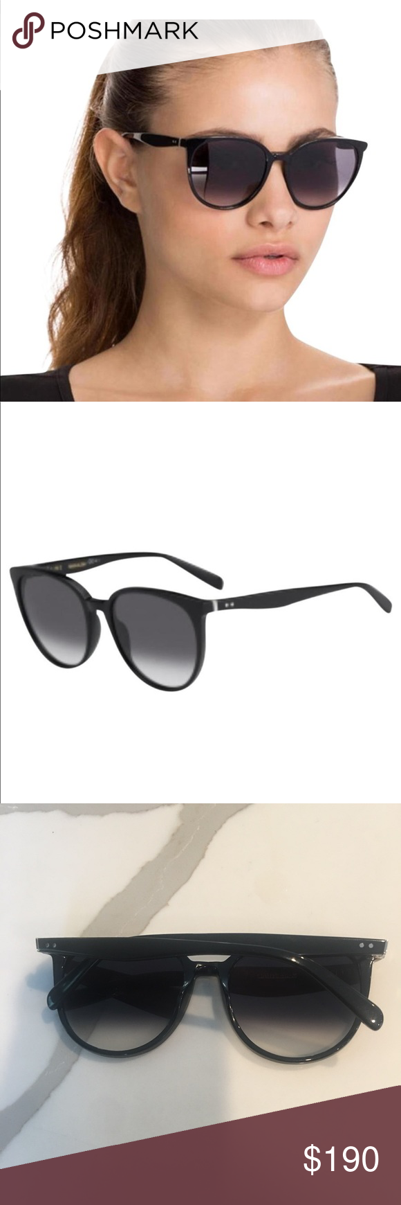 669858b0f2431 Celine sunglasses 👓👓👓👓👓👓 CL 41068 S 807W2 55 Celine Thin Mary ...
