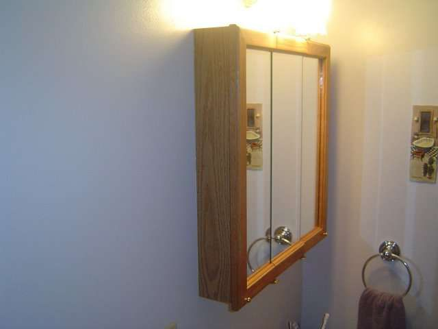 Delightful How To Install A Medicine Cabinet. Medicine Cabinets Are Excellent Storage  Areas For Small Bathrooms. Installing A Medicine Cabinet Is Very Straight  Forward ...