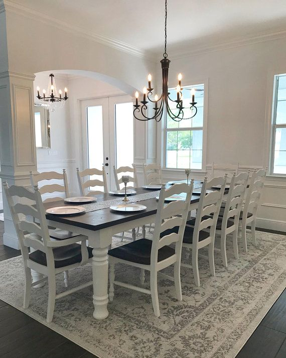 home decorators collection heirloom farmhouse table wide farmhouse leg heirloom collection 11432