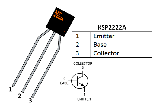 Ksp2222a Transistor Pinout Transistors Electronics Basics Electronic Schematics