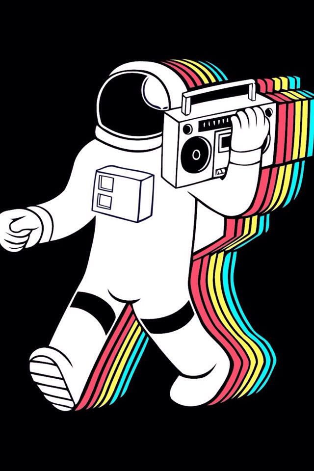 Astronauts like to jam out too!!!