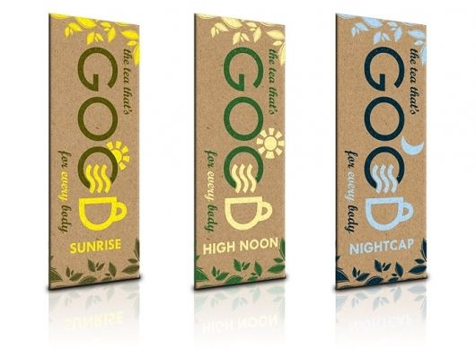 Concept Packaging: Good Tea - The Dieline: The World's #1 Package ...