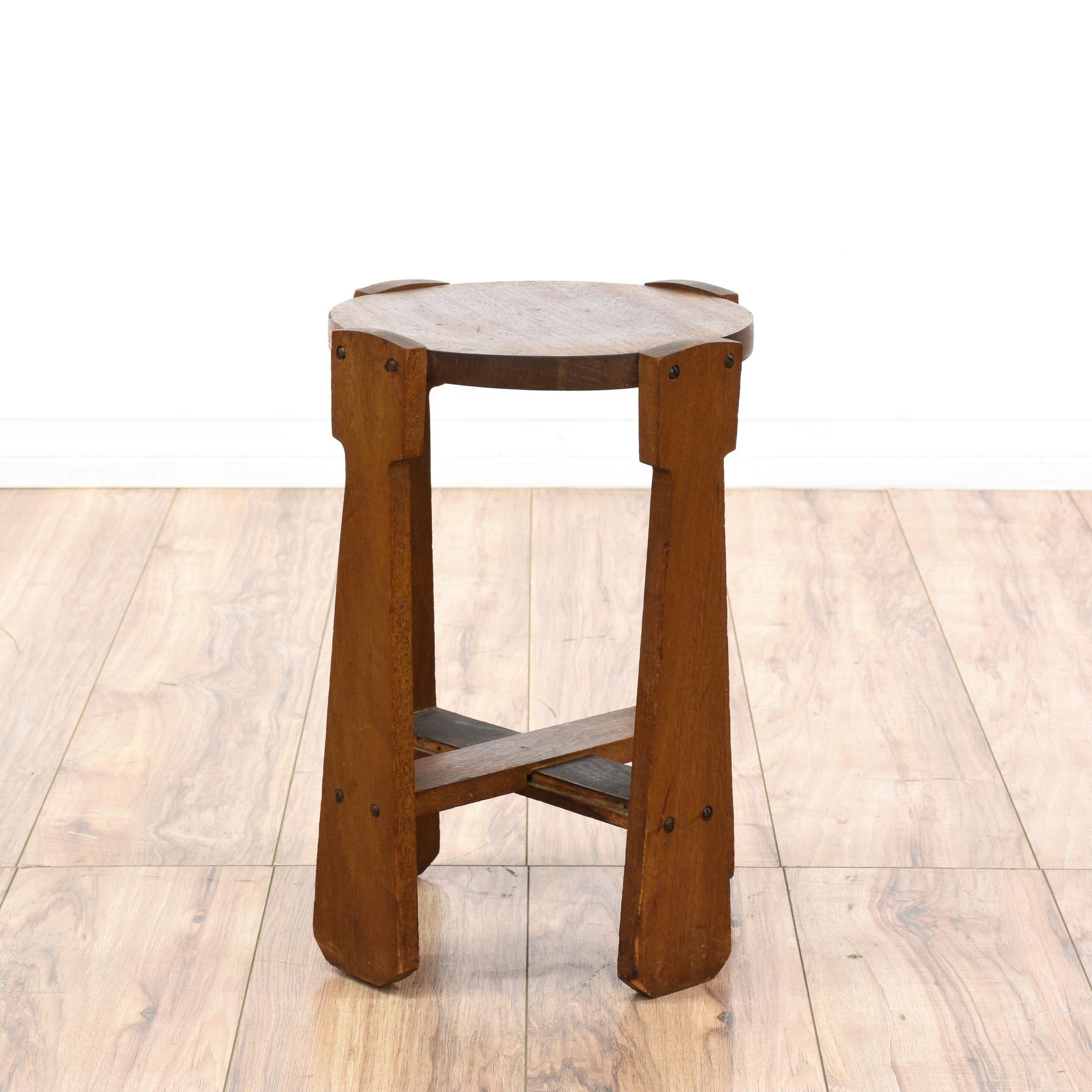 Arts U0026 Crafts Mission Style Wood Table | Loveseat Vintage Furniture San  Diego U0026 Los Angeles