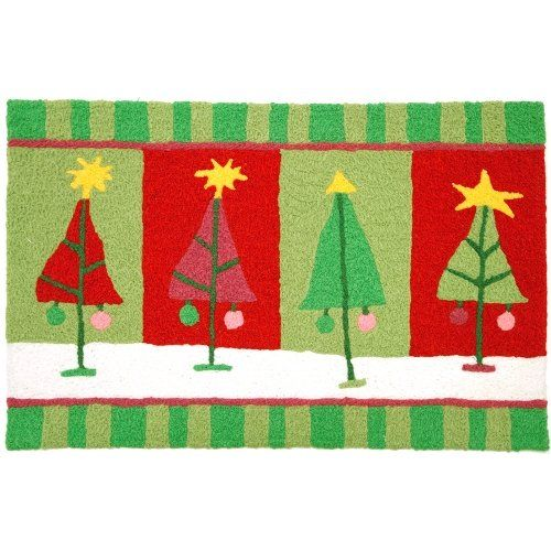 Jellybean Jolly Jingle Christmas Tree Indoor Outdoor Accent Rug Details Can Be Found By Clicking