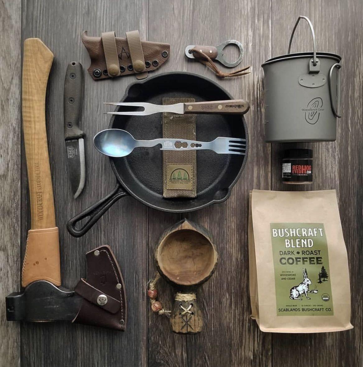 Photo of Bushcraft Sustenance Kit Loadout