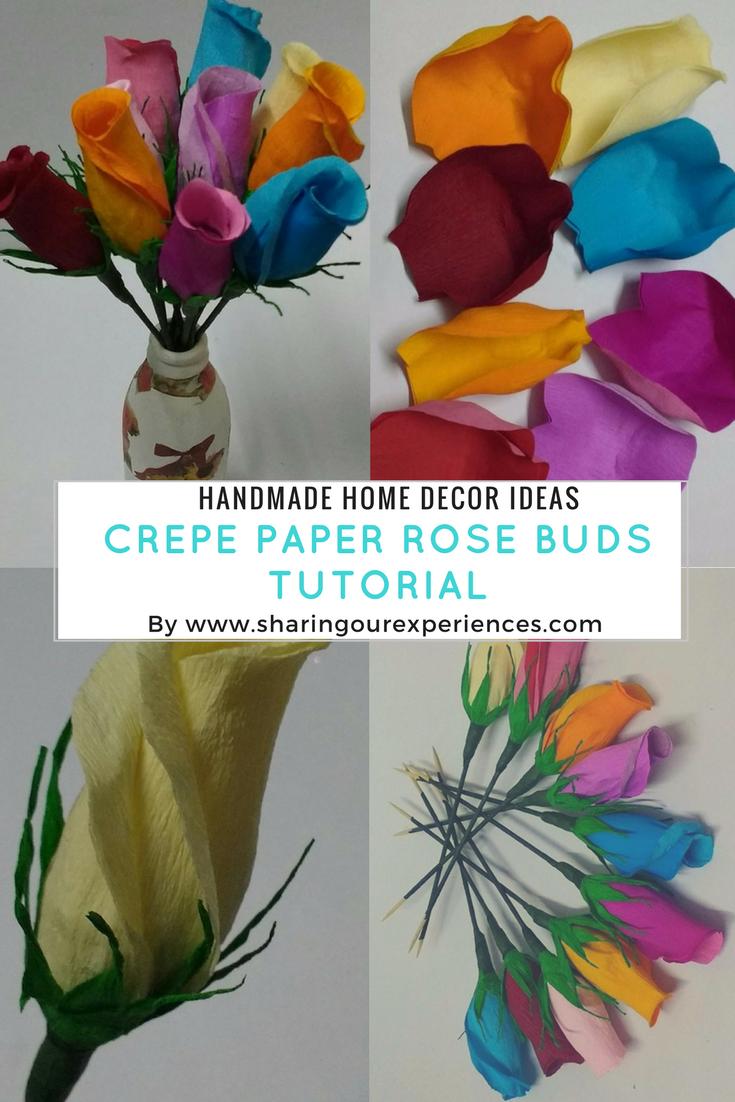 Image Result For Rose Making At Home Crafts Flower Making
