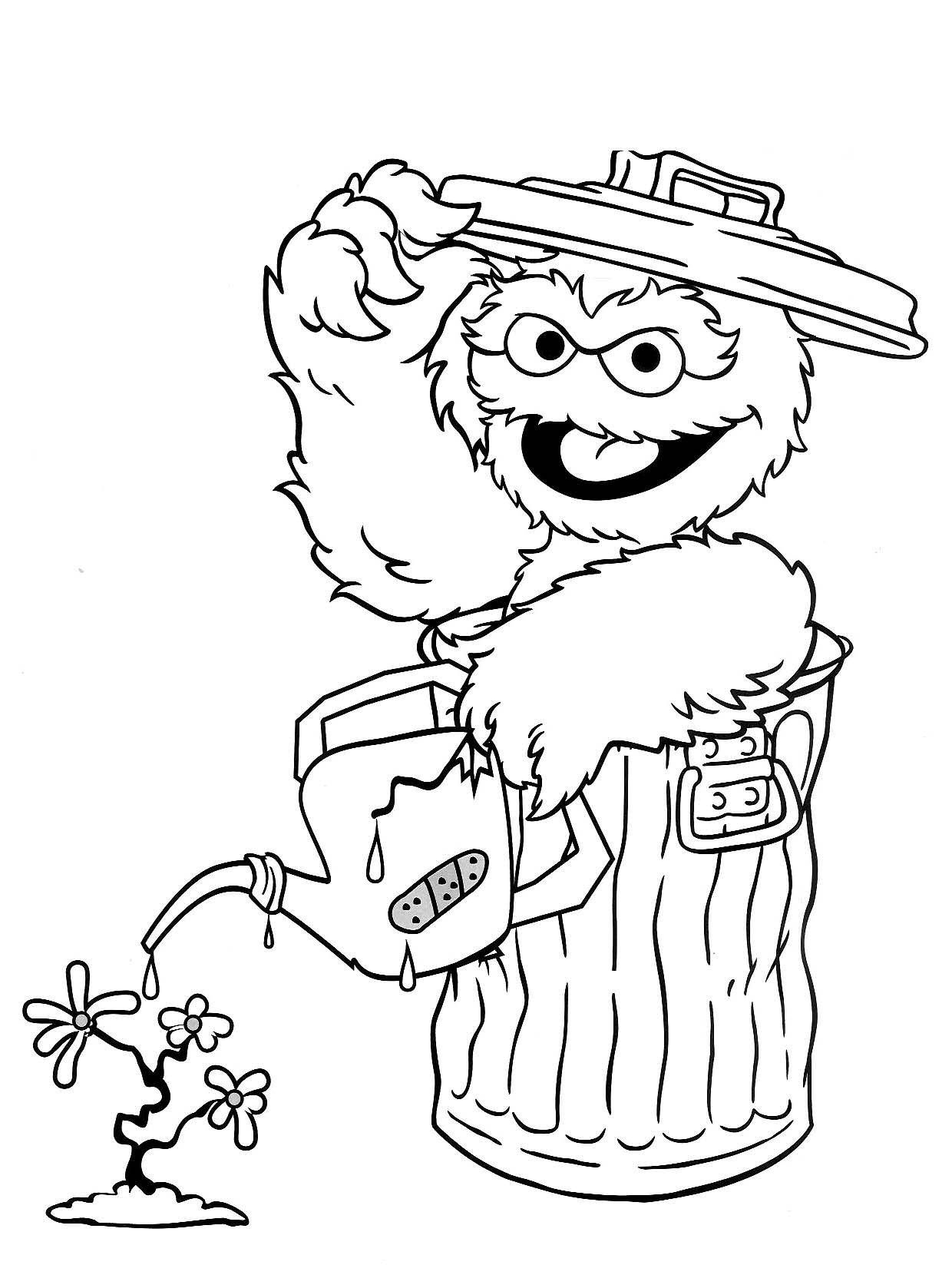 awesome Sesame Street Elmo Coloring Pages  Sesame street coloring